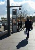 Controllo di sicurezza a Gerusalemme orientale Fotografie Stock