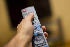 Controllo di TV/Video in braccio Fotografia Stock Libera da Diritti