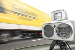 Controllo di velocità Fotografie Stock