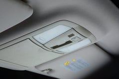 Controllo Illuminating in un'automobile Immagini Stock