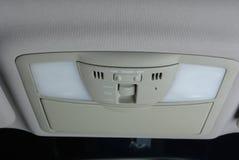 Controllo Illuminating in un'automobile Immagine Stock Libera da Diritti