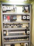 Controllo a macchina industriale a alta tecnologia dal ceppo di programmazione dello SpA Immagini Stock