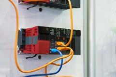 Controllo a macchina industriale a alta tecnologia dal ceppo di programmazione dello SpA Immagine Stock