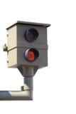 Controllo radar, flash Immagini Stock