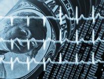 Controllo sanitario del dollaro Fotografie Stock Libere da Diritti