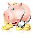 Controllo sanitario finanziario Fotografia Stock