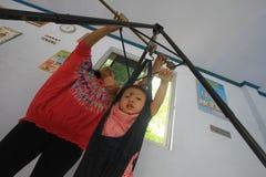 Controllo sanitario infantile Fotografie Stock Libere da Diritti