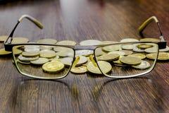 Controllo sopra le finanze in tempo di crisi Immagine Stock Libera da Diritti
