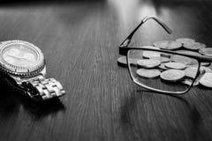 Controllo sopra le finanze in tempo di crisi Immagini Stock