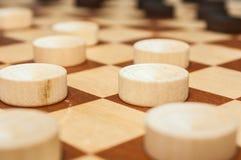 Controllori su un bordo di legno Immagine Stock