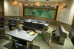Controlo da missão Kennedy Space Center da NASA Fotos de Stock Royalty Free