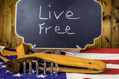 Controlo de armas Imagem de Stock Royalty Free