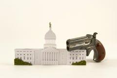 Controlo de armas Legistlation Foto de Stock Royalty Free