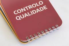 Controlo DE Qualidade Stock Foto's