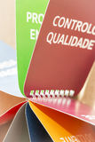 Controlo DE Qualidade Royalty-vrije Stock Afbeelding