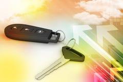 Controlo a distância da segurança para seu carro Fotos de Stock Royalty Free