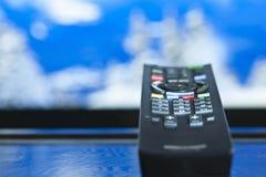 Controlo a distância da televisão foto de stock