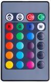 Controlo a distância do sistema de iluminação foto de stock royalty free