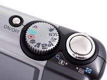 Controls digital camera Stock Photography