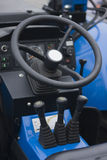 Controls of heavy machinery Stock Image
