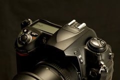 Controls of Modern Digital Camera Stock Image