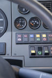 Controls of the truck Royalty Free Stock Photo