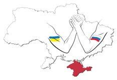 Controversia sobre Crimea 1 Fotos de archivo