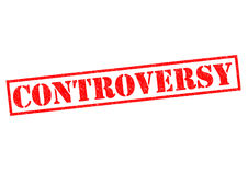CONTROVERSY Stock Photography