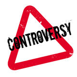 Controversy rubber stamp Royalty Free Stock Photos