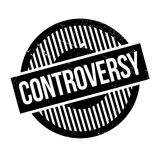Controversy rubber stamp Stock Images