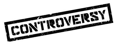 Controversy rubber stamp Royalty Free Stock Images