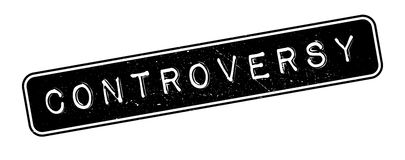 Controversy rubber stamp Stock Photography