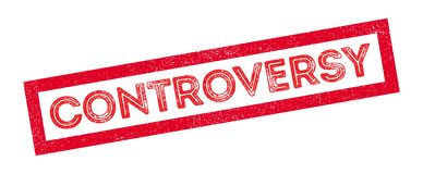 Controversy rubber stamp Royalty Free Stock Photo