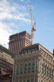 Contruction crane Stock Photo