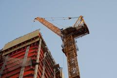 Contruction crane Stock Photography