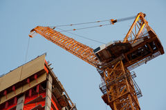 Contruction crane Royalty Free Stock Photography