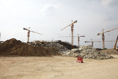 Contruction site Stock Photography