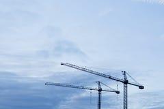 Contructions-Kran Lizenzfreie Stockbilder