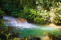 Contryside Waterfalls in El Nicho, Cuba Stock Images