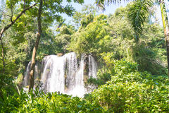 Contryside Waterfalls in El Nicho, Cuba Royalty Free Stock Photos