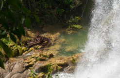 Contryside Waterfalls in El Nicho, Cuba Royalty Free Stock Images