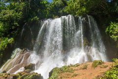 Contryside Waterfalls in El Nicho, Cuba Stock Photos