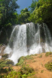 Contryside Waterfalls in El Nicho, Cuba Stock Photo