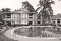 Contsruction real rico estupendo de lujo Fotografía de archivo libre de regalías
