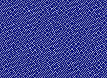 Conundrum labyrinth. lines path pattern Royalty Free Stock Images