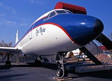 Convair CV880 samolot fotografia royalty free