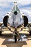 Convair F-102三角洲匕首 免版税库存照片