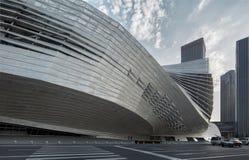 Convenção de Dalian e centro de exposição internacionais, China foto de stock royalty free