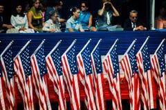 Convenção Democrática das decorações desde 1968. imagens de stock