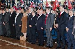 Convenção dos FILHOTES DE CACHORRO JS do SPS Fotos de Stock Royalty Free